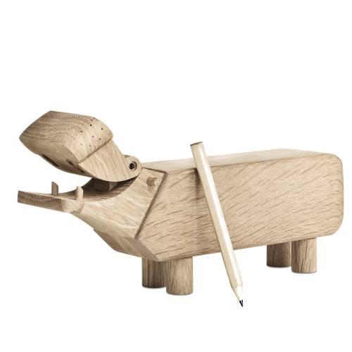 Kay Bojesen Nilpferd Hippo bewegliches Maul