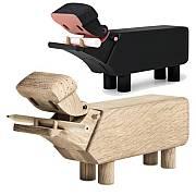 Kay Bojesen: Nilpferd Hippo, Hersteller Rosendahl, Designer Kay Bojesen