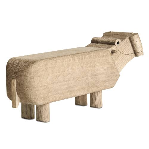 Kay Bojesen Nilpferd Hippo rundum
