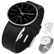 BANKERS Armbanduhr, Marke Rosendahl, Designer Arne Jacobsen