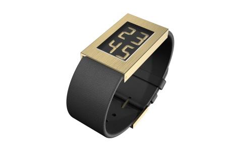 Watch I Armbanduhr gold small