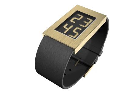 Watch I Armbanduhr gold large