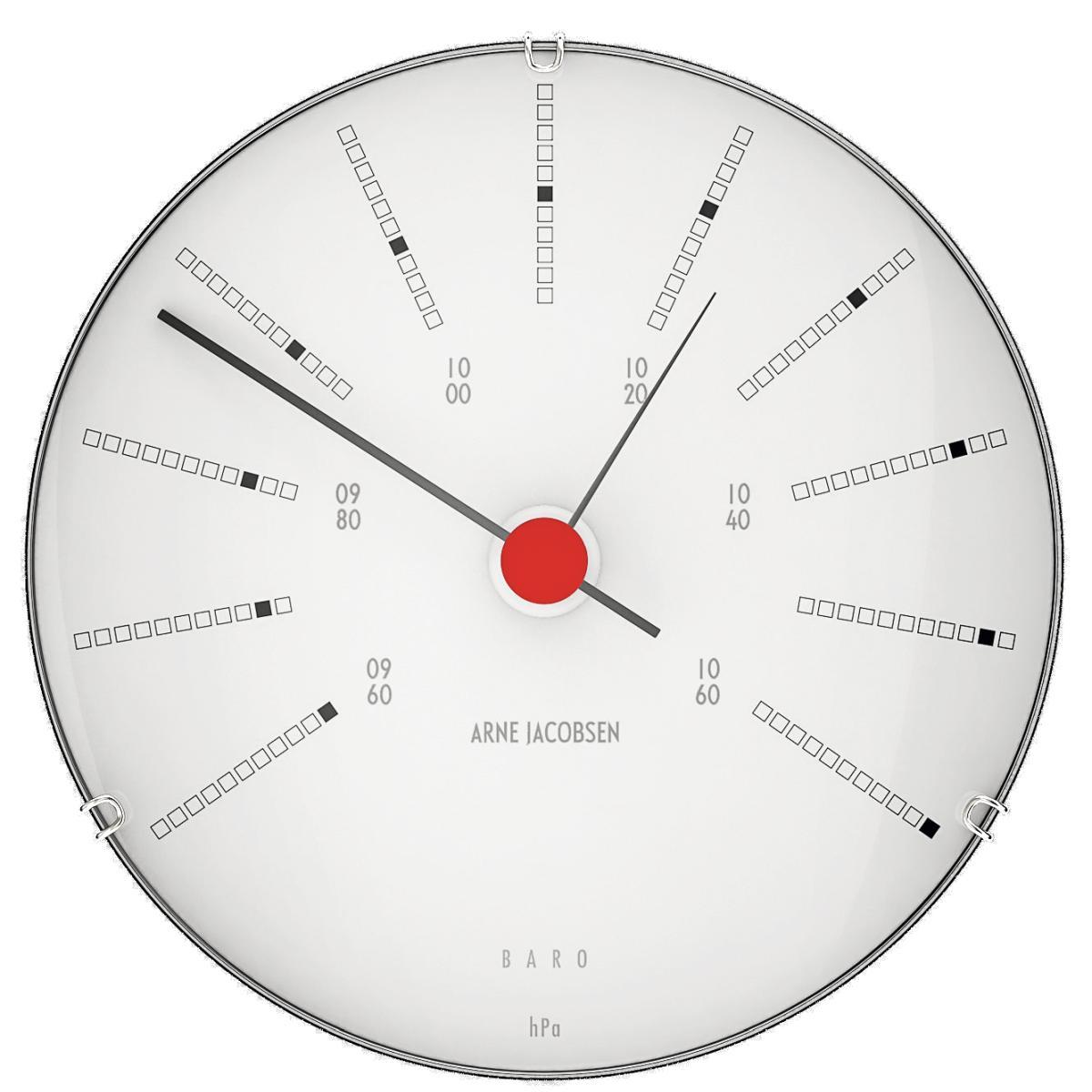 BANKERS Wetterstation Barometer Ø 12 cm