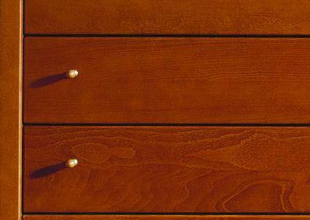 Montana Kommode Detail der Knöpfe