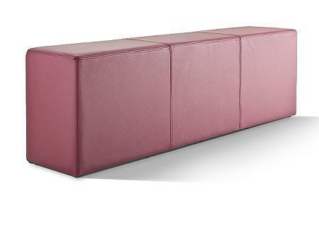 POMP Sitzbank bordeaux-rot