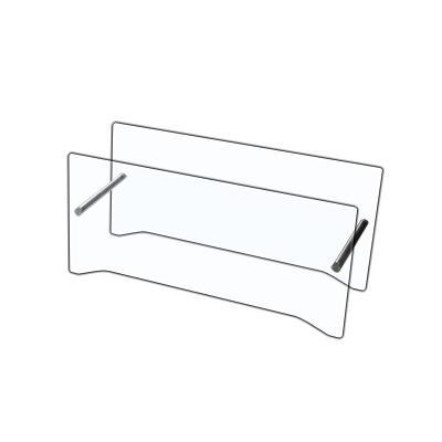 Schutzglas für CUBICO XT / CUBICO ST Standkamine