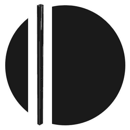 LINE Garderobe (46) schwarz