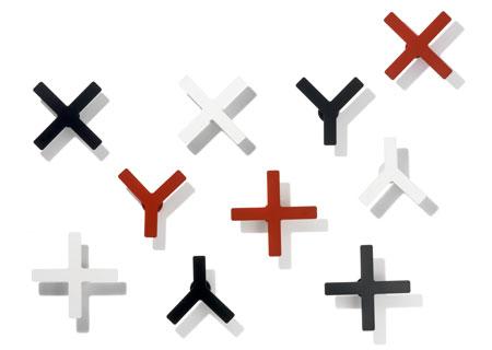Haken X-Y Kleiderhaken