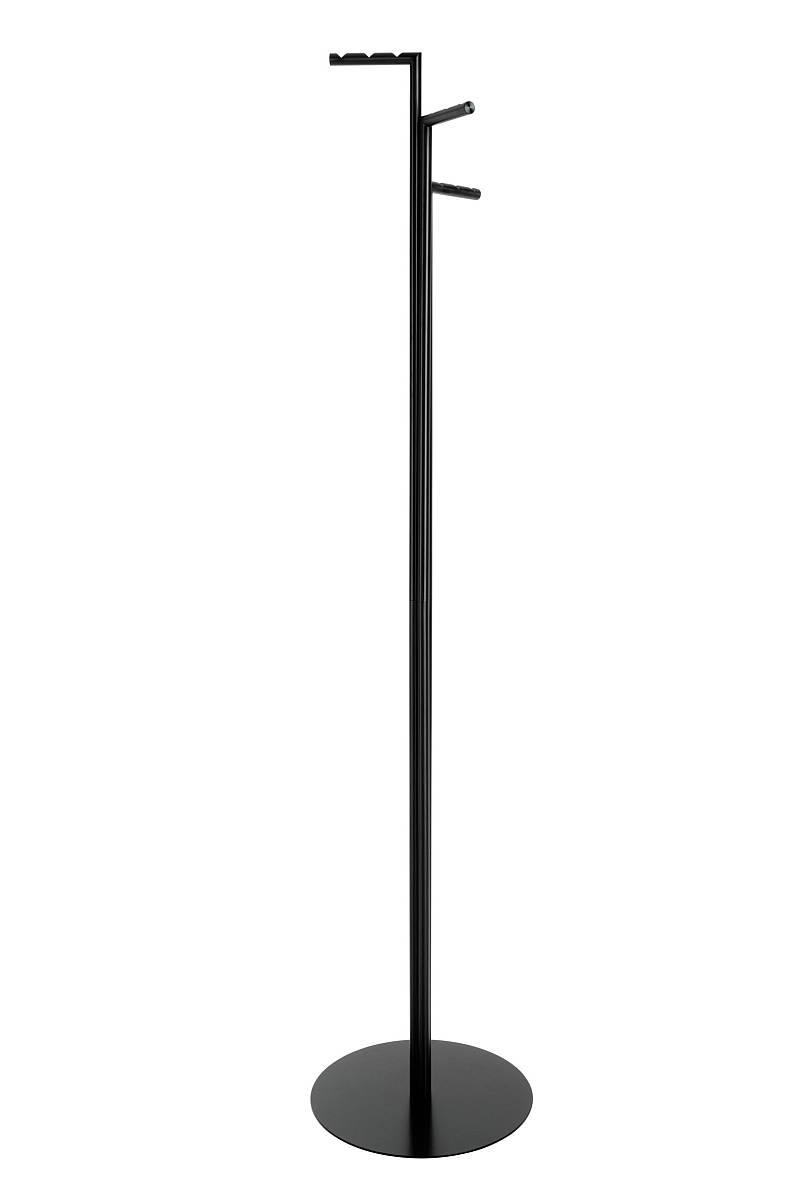 ZINOX Garderobenständer schwarz pulverbeschichtet