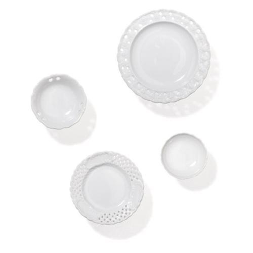 CHINA Garderobenhaken Porzellan 4er-Set
