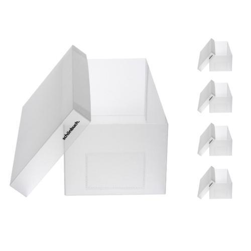 SHOEBOX Schuhbox für Herrenschuhe 5er-Set