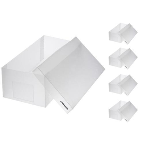 SHOEBOX Schuhbox für Damenschuhe 5er-Set