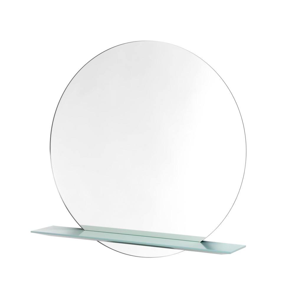 CUT Spiegel mit Ablage 30 cm Farbe salbei