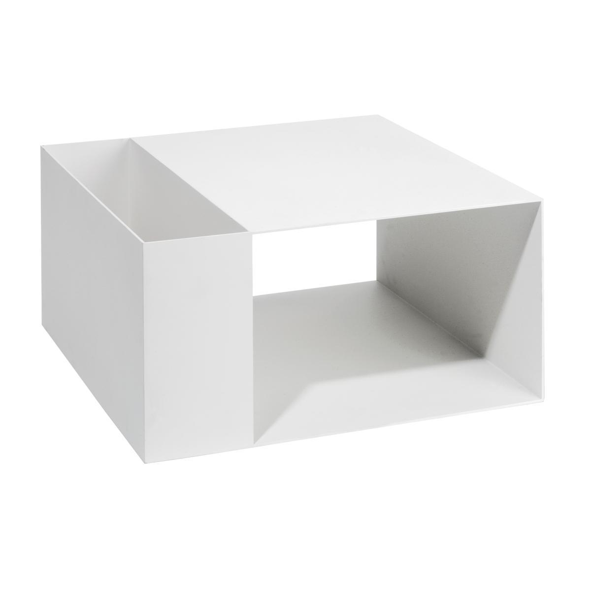 MATCH Beistelltisch T1 pulverbeschichtet weiß