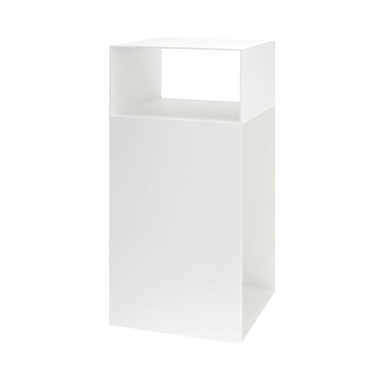 MATCH Beistelltisch T3 pulverbeschichtet weiß