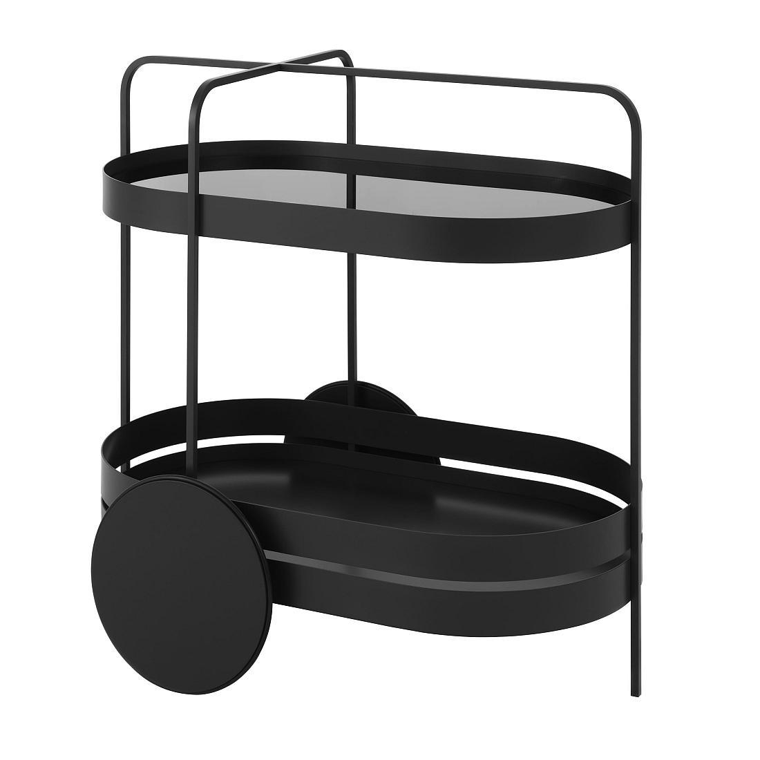 GRACE Servierwagen schwarz