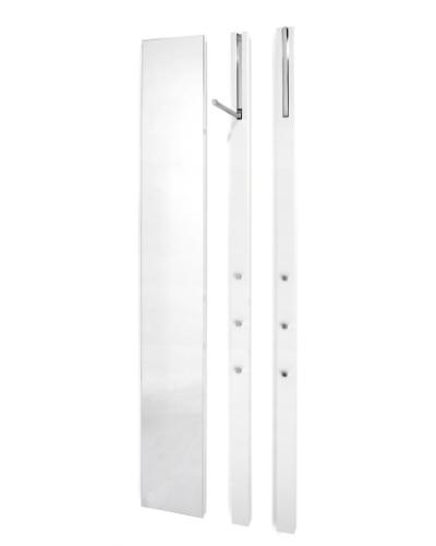 LINE Spiegel mit 2 LINE Garderoben