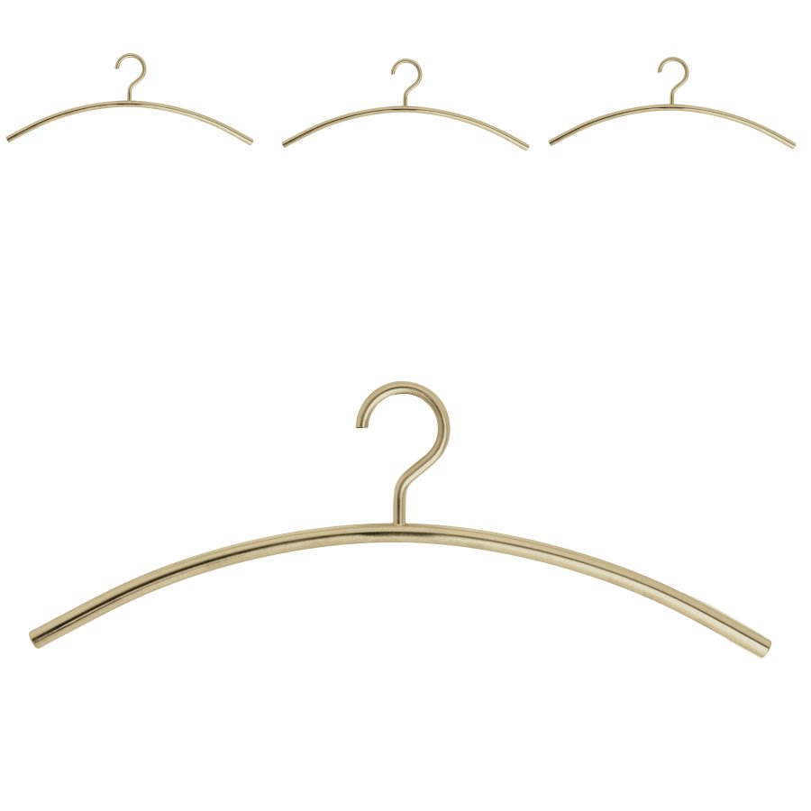 schönbuch Kleiderbügel 0150 4er-Set messing matt