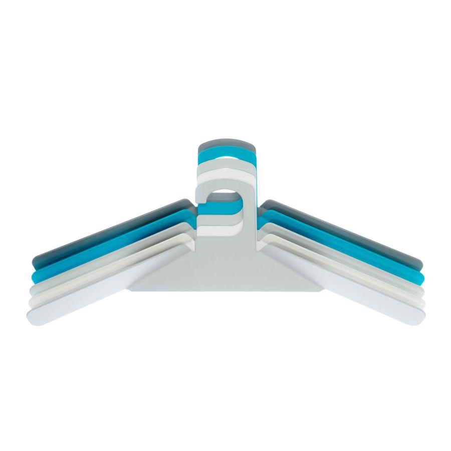 schönbuch Kleiderbügel 0200 5er-Set Akzentfarbe leuchtblau