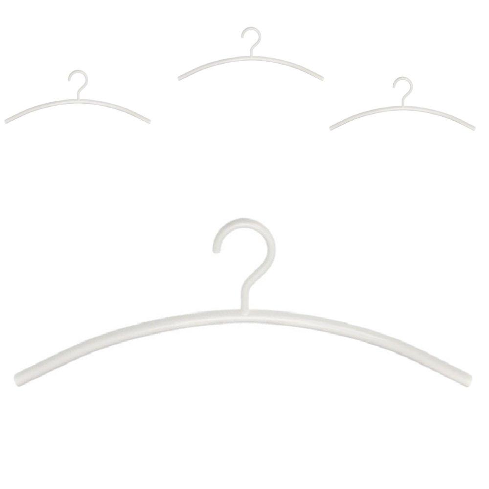 schönbuch Kleiderbügel 0155 4er-Set weiß