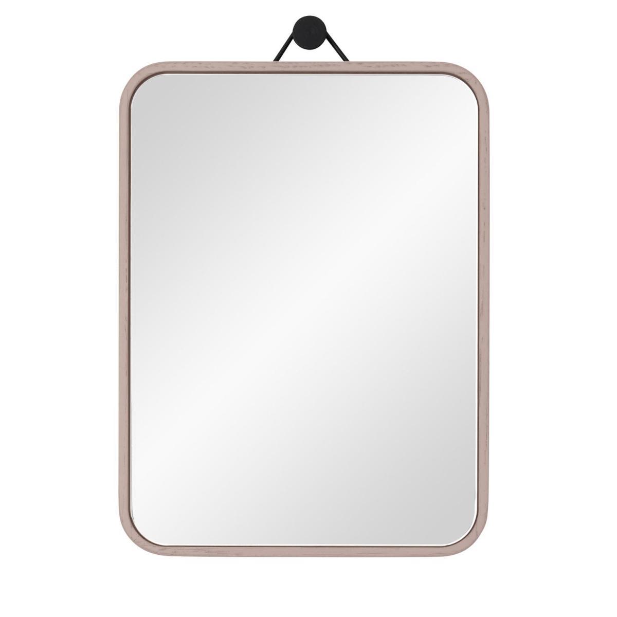 VIEW Spiegel 15 x 20 cm Eiche kieselstein