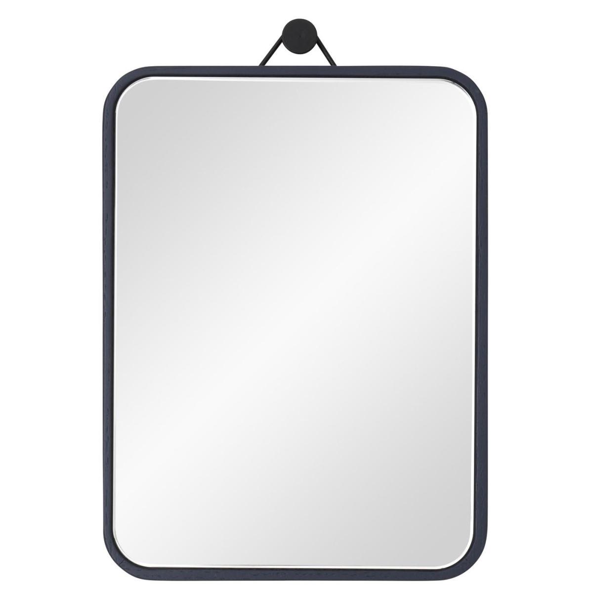 VIEW Spiegel 15 x 20 cm Eiche nachtblau