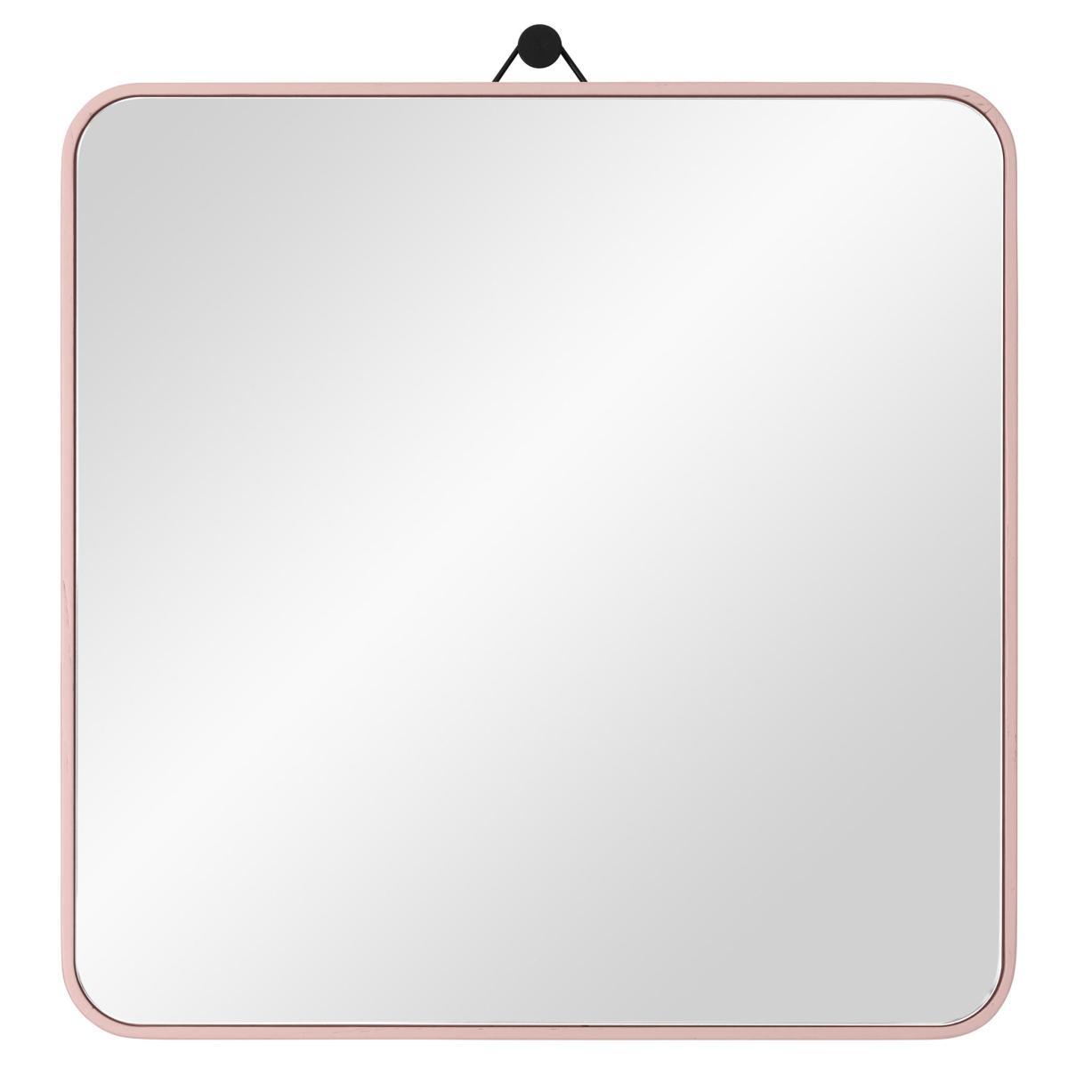 VIEW Spiegel 30 x 30 cm Eiche altrosa