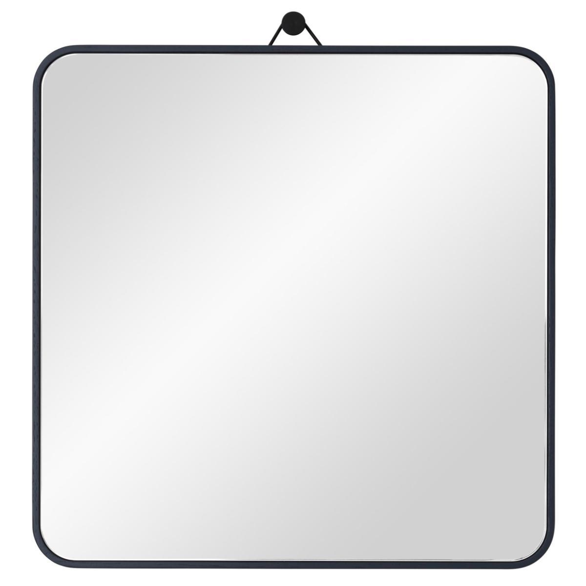 VIEW Spiegel 30 x 30 cm Eiche nachtblau