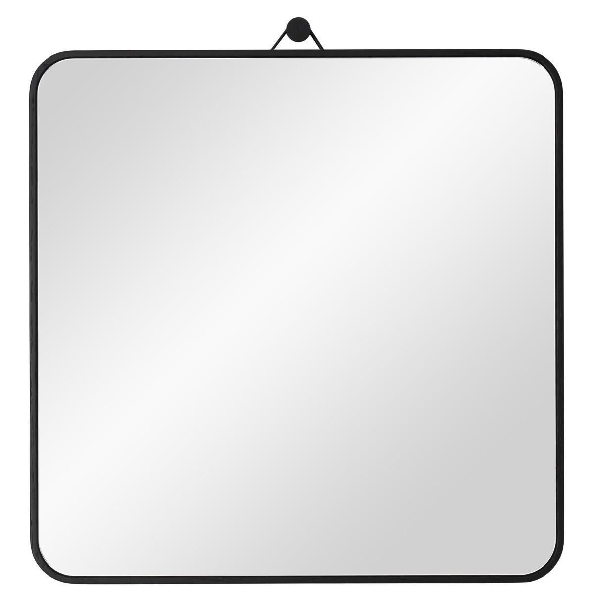 VIEW Spiegel 30 x 30 cm Eiche schwarz