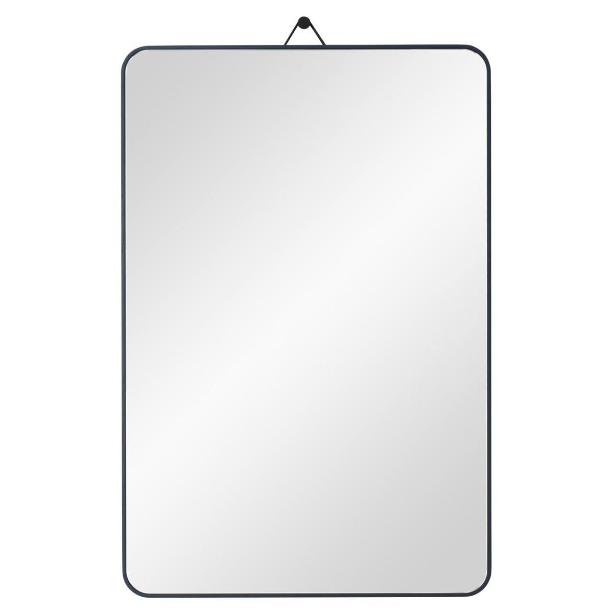 VIEW Spiegel 40 x 60 cm Eiche nachtblau