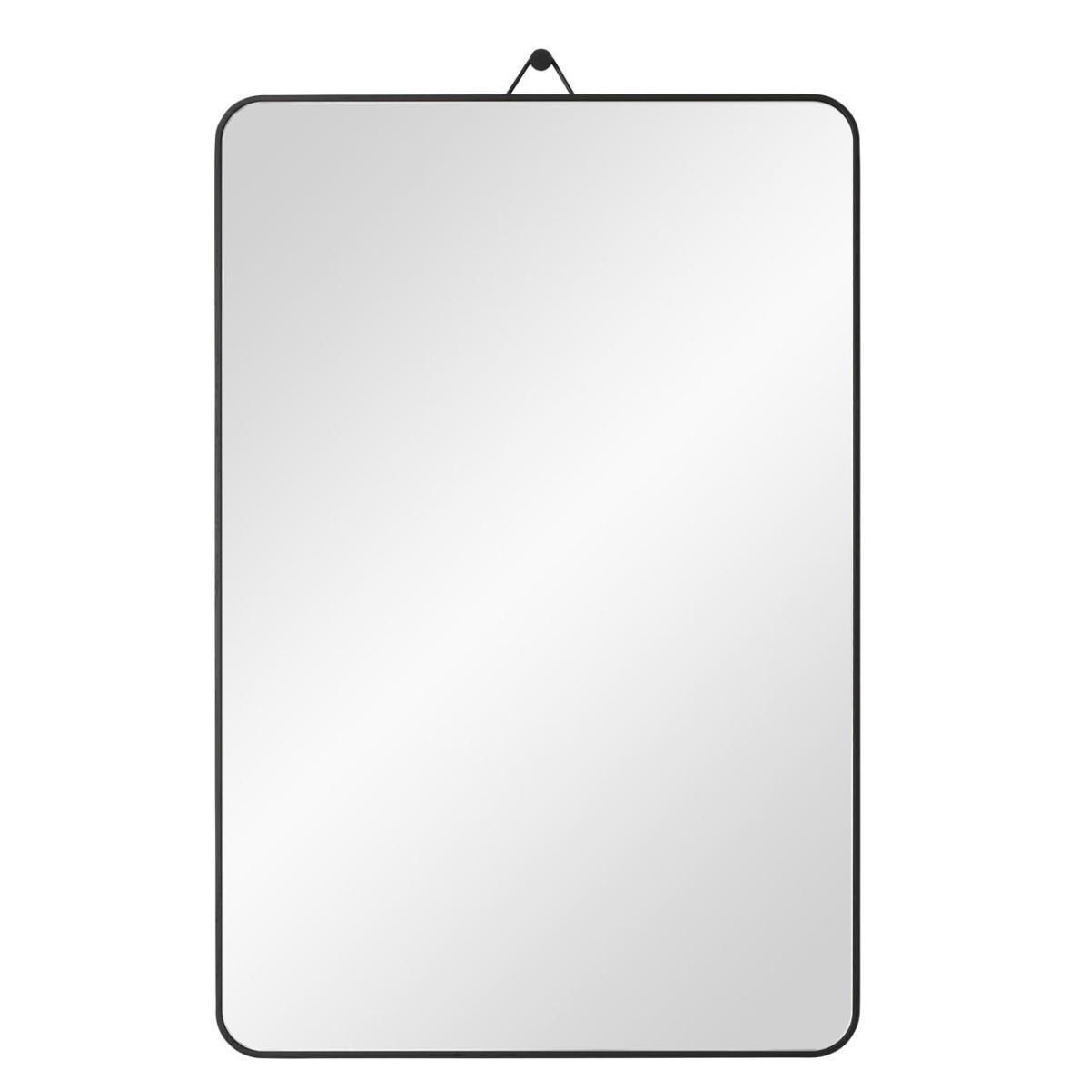 VIEW Spiegel 40 x 60 cm Eiche schwarz