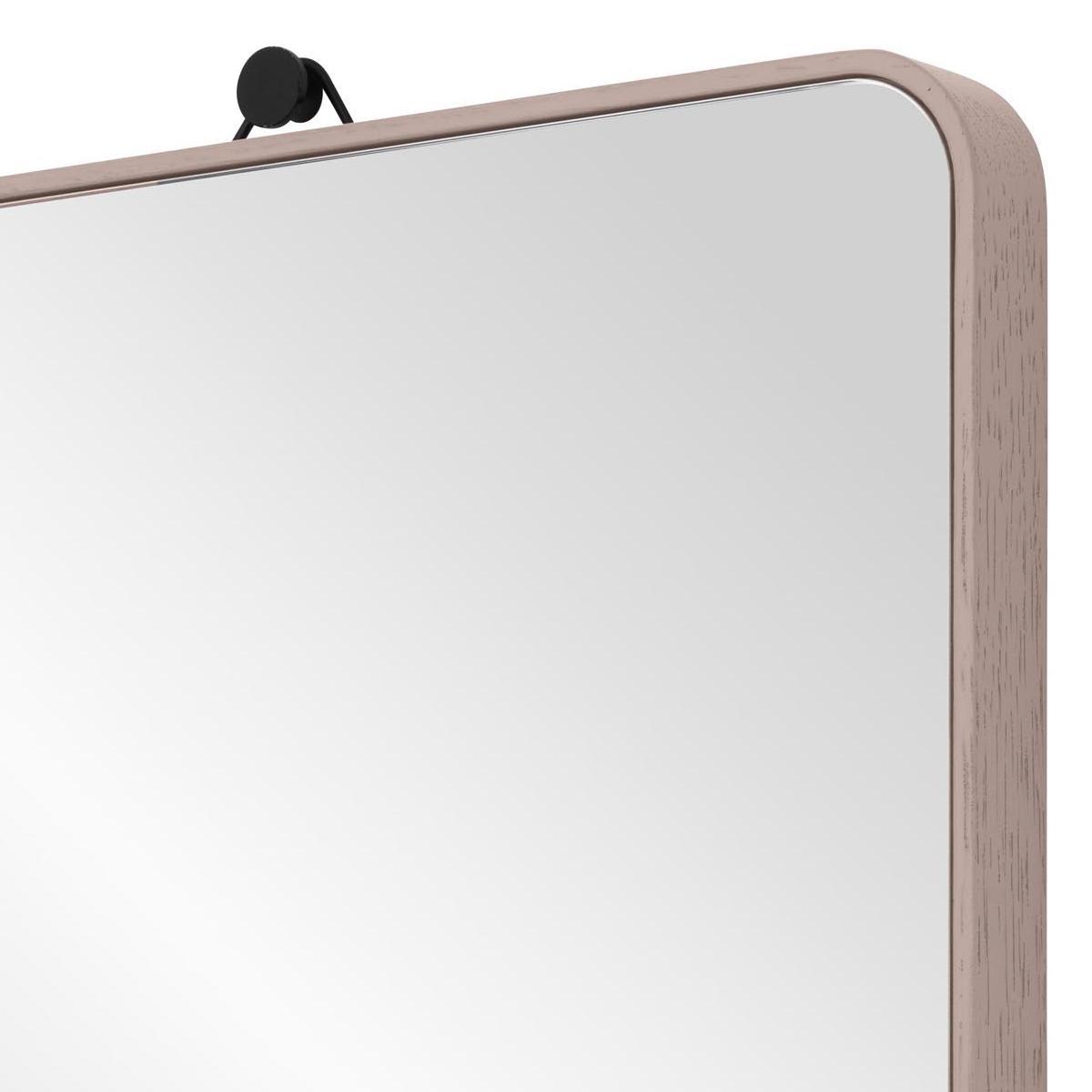 VIEW Spiegel kieselstein mit gebogenen Ecken