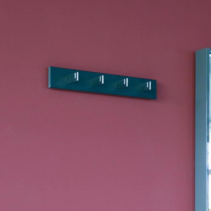 HESPERIDE Garderobenleiste 60 cm mit 4 Haken