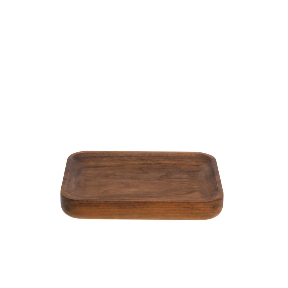 DICE Ablageschale Nussbaum, klein