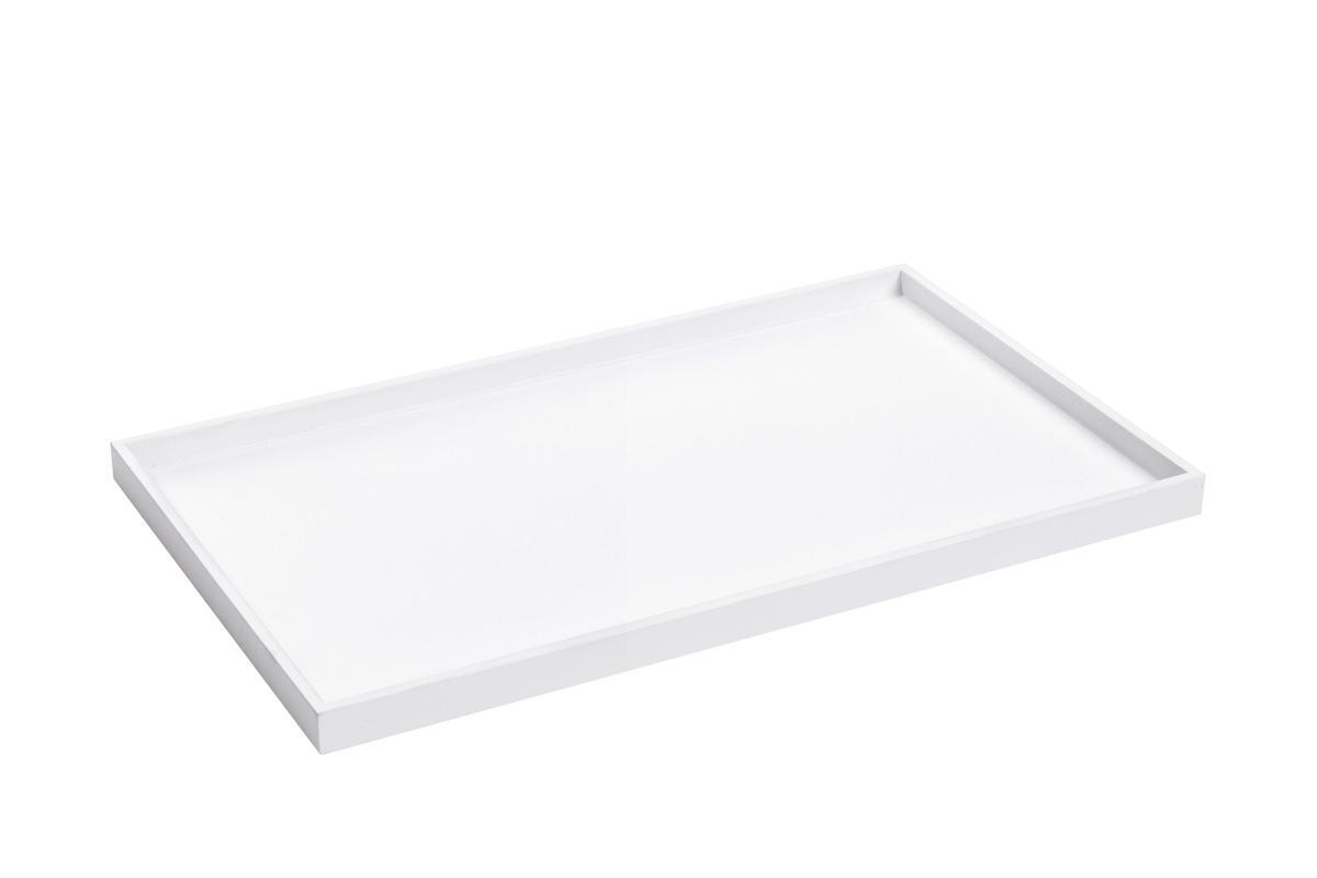 TRAY Tablett schneeweiß (54)