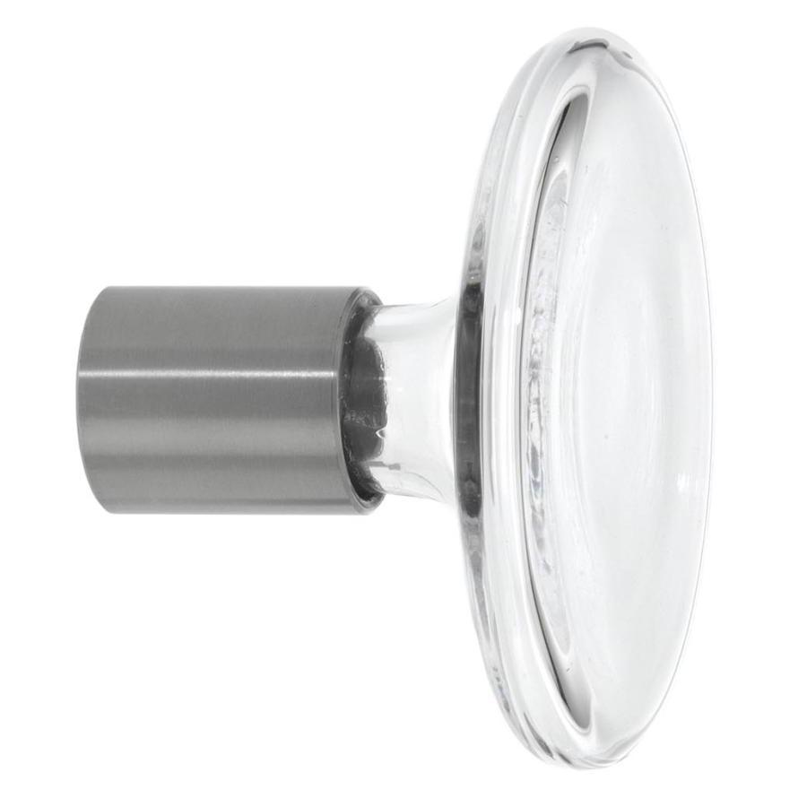 BULB Garderobenhaken clear / Klarglas 9 cm