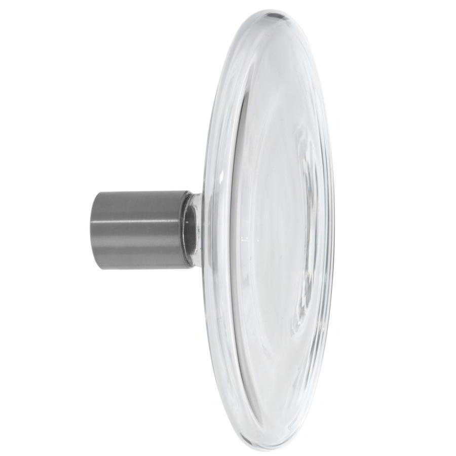 BULB Garderobenhaken clear / Klarglas 16 cm