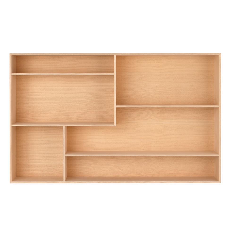 TREASURE BOX 0642 Setzkasten Esche, mit 6 Fächern