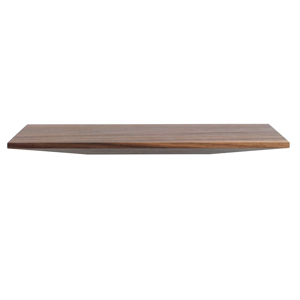 CUT Regal Board 30 cm Nussbaum natur geölt