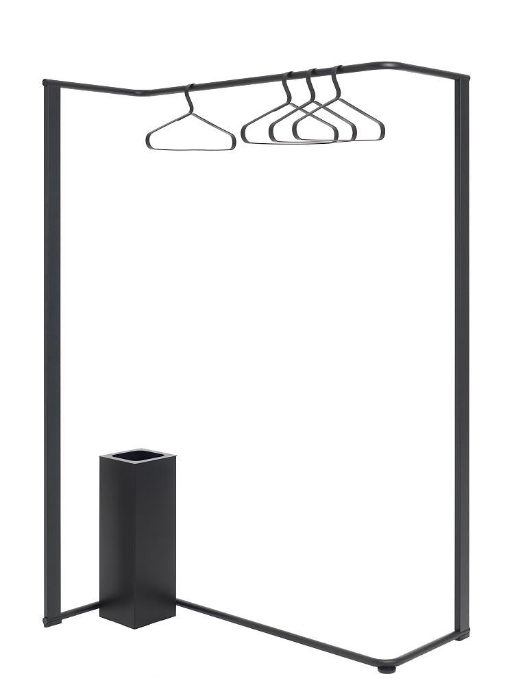 ANGLE Garderobenständer 1040 mit Schirmständer als Bürogarderobe