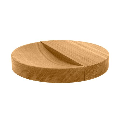 SPLIT BOWL Holzschale Eiche natur