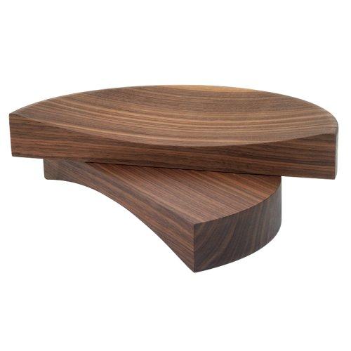 SPLIT BOWL getrennte Holzschalen, Nussbaum