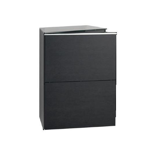 BASIC Schrank mit Tür linksbündig (Bänder links, Griff rechts)