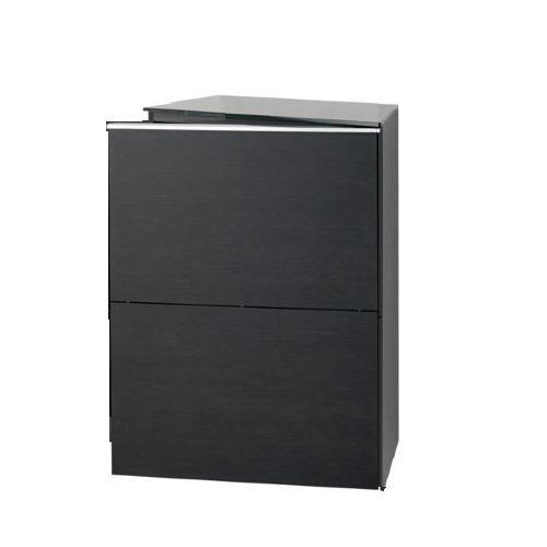 BASIC Schrank mit Tür linksbündig (Bänder rechts, Griff links)
