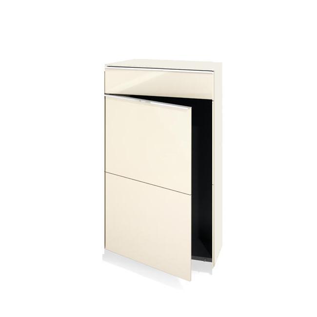 BASIC Schrank mit Tür und Schubkasten, Türanschlag links