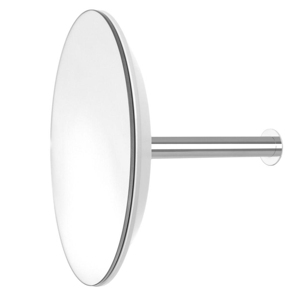 SLOT Wandgarderobe mit Spiegel Ø 24 cm, Basisfarbe nach Wahl
