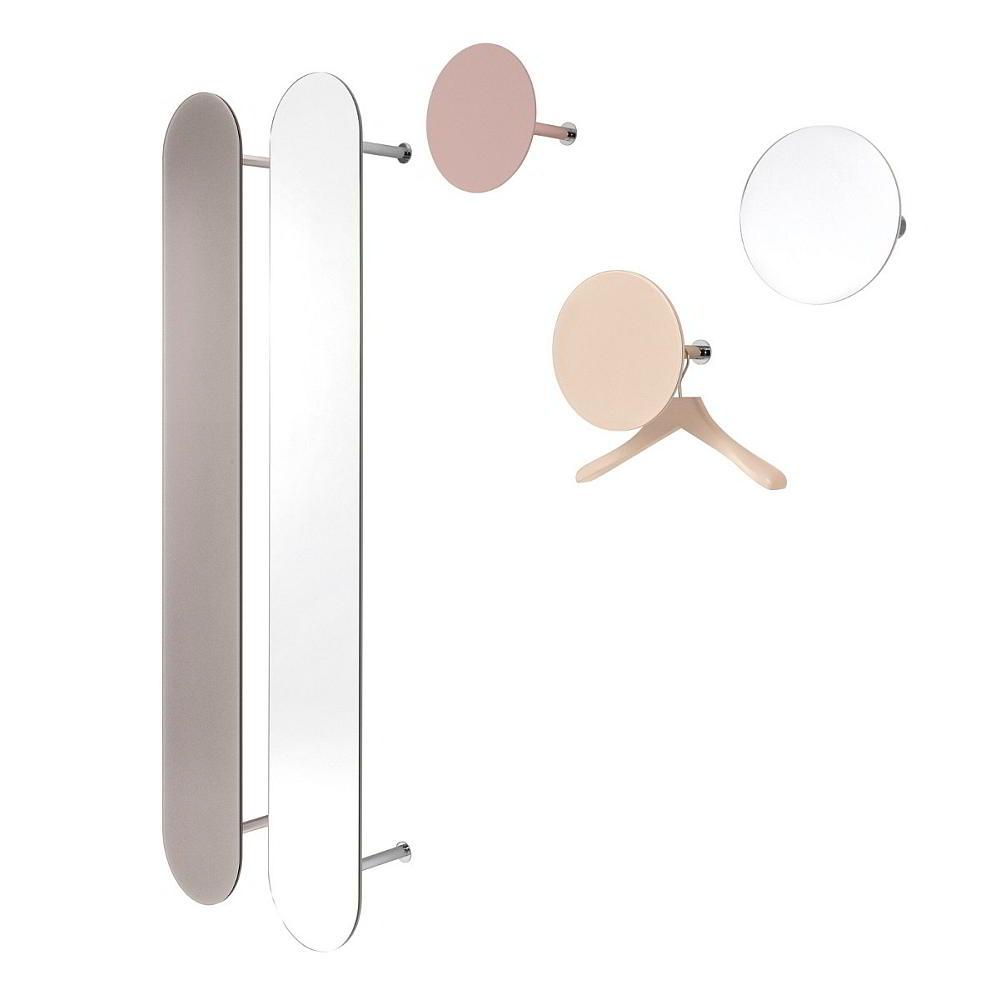 SLOT Wandgarderobe groß, klein und mit Spiegel