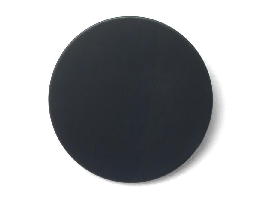 DISK Garderobenhaken Basisfarbe schwarz