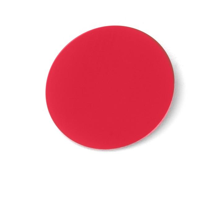 DISK Garderobenhaken Akzentfarbe tomatenrot