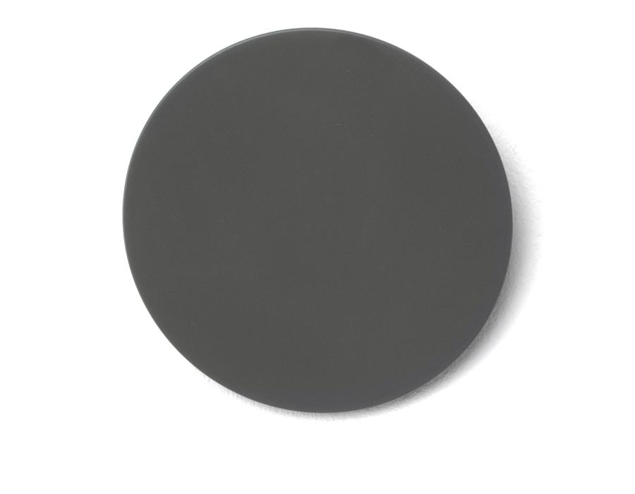 DISK Garderobenhaken Basisfarbe schwarz (46)